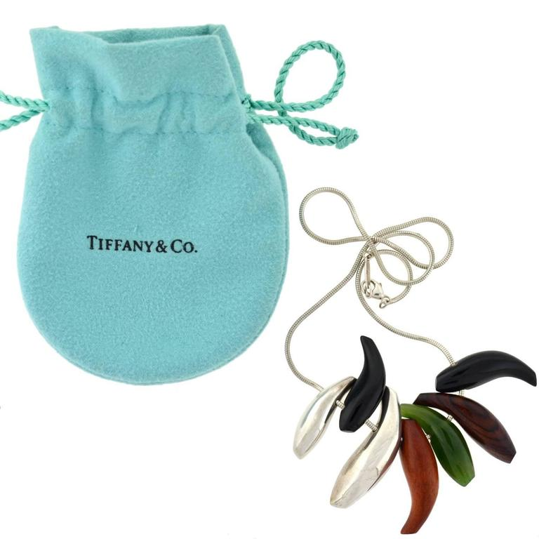 Tiffany And Co Frank Gehry Seven Fish Necklace At 1stdibs