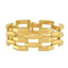 Tiffany & Co. Vintage Gate Link Gold Bracelet