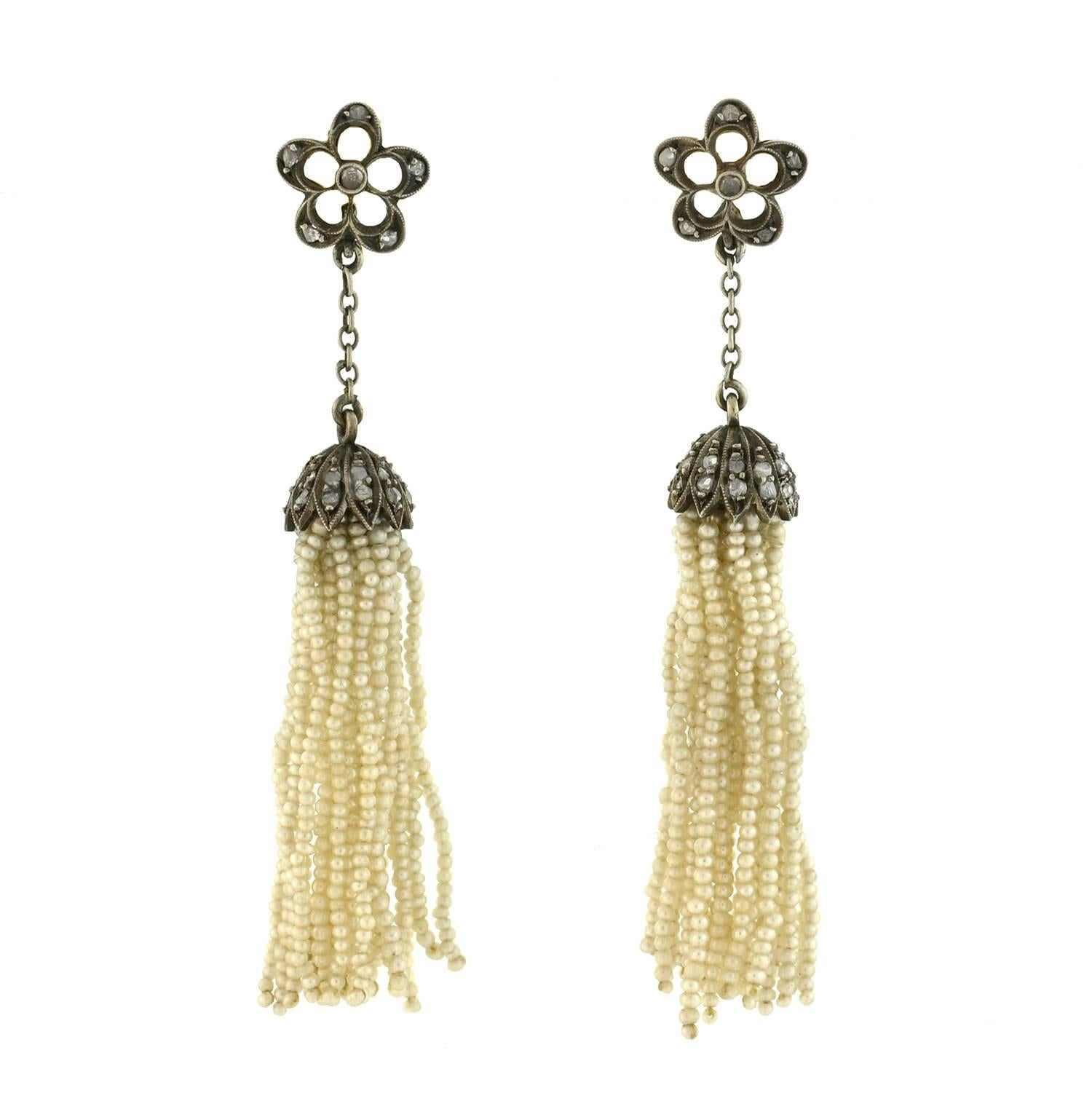 img the image orange earrings tassel of jay tassle nicole rust product