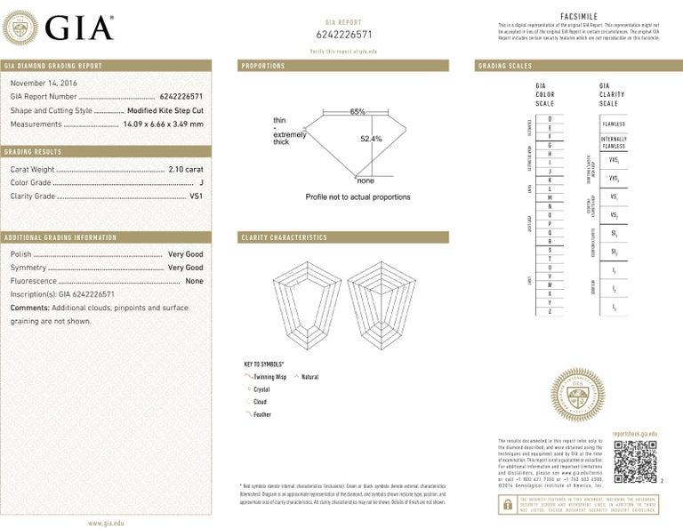 Modern Style GIA Certified Diamond Platinum Cross For Sale 4