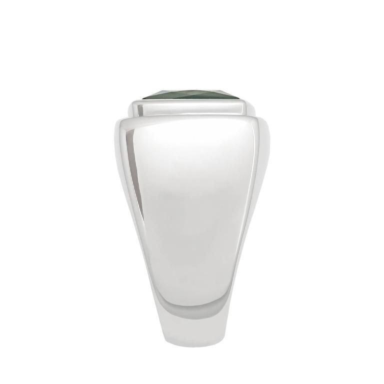 Contemporary Colleen B. Rosenblat 14.45 Carat Indigolite Gold Ring For Sale