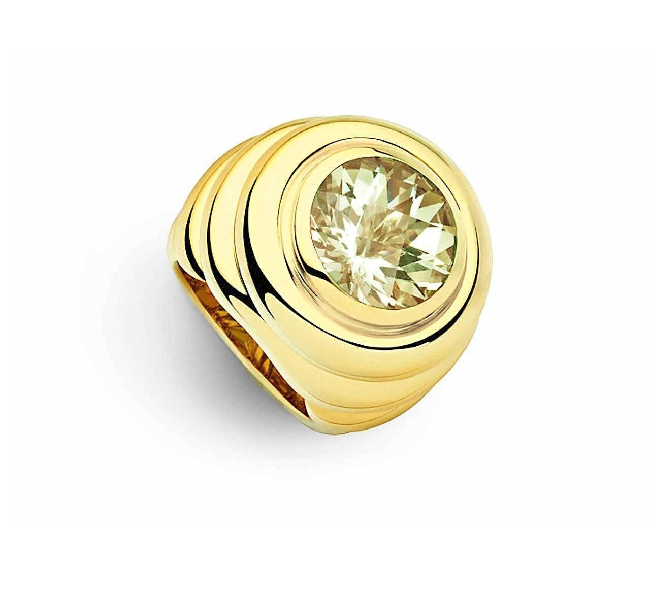 colleen b rosenblat beryl gold ring for sale at 1stdibs
