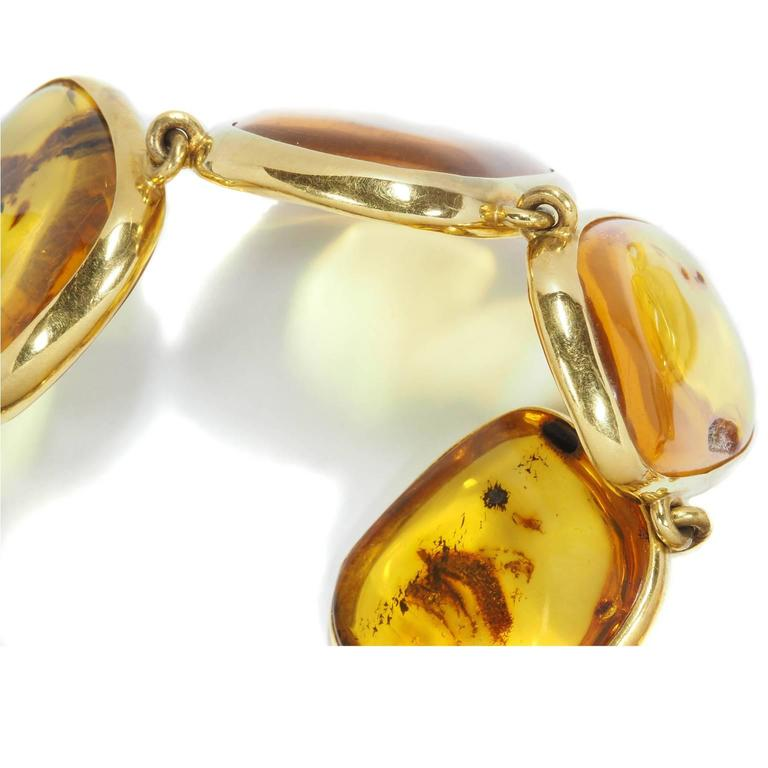 Colleen B. Rosenblat Amber Gold Necklace 2