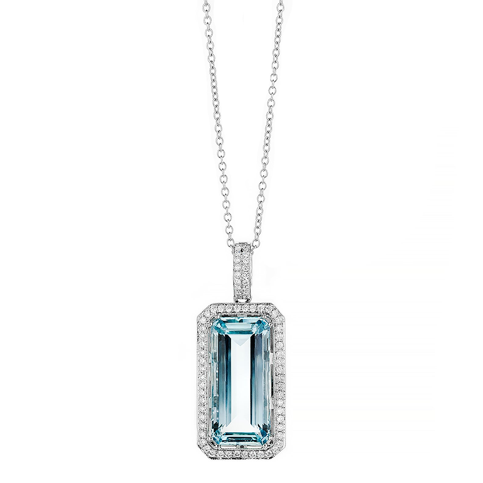 watches aquamarine product miadora free pendant today silver shipping overstock necklace sterling jewelry
