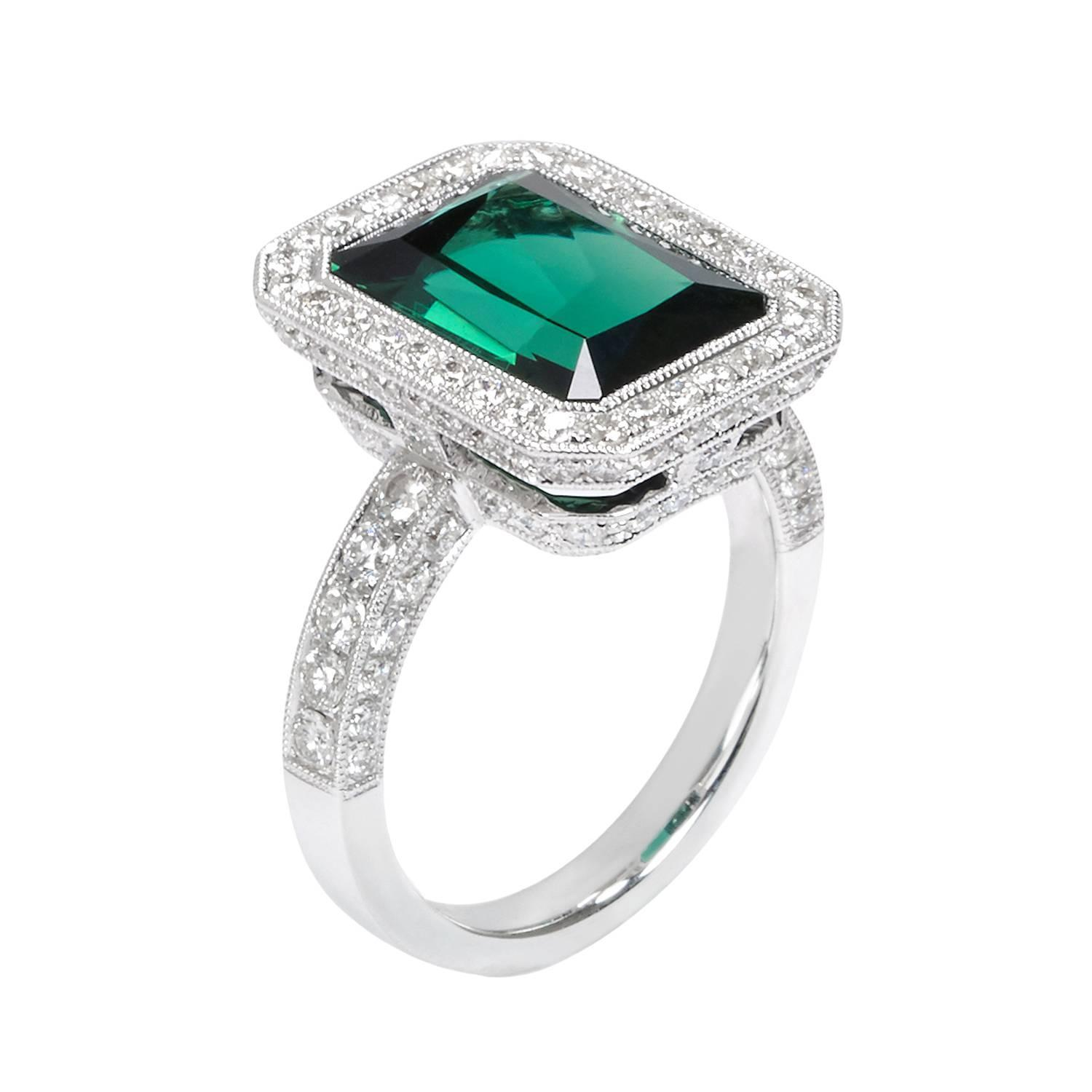 Chrome Tourmaline Rings Sale