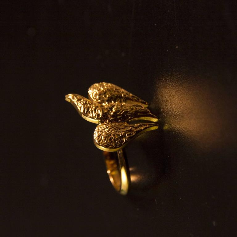 """1963 Georges Braque Gold """"Lachesis"""" Ring In Excellent Condition For Sale In Paris, FR"""