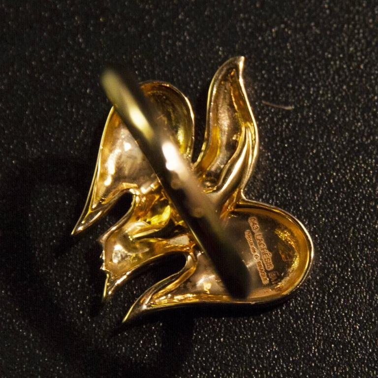 """1963 Georges Braque Gold """"Lachesis"""" Ring For Sale 1"""