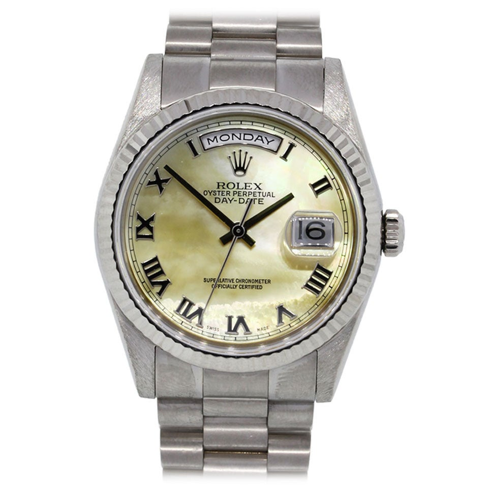 Rolex Oyster Perpetual Day Date 18k