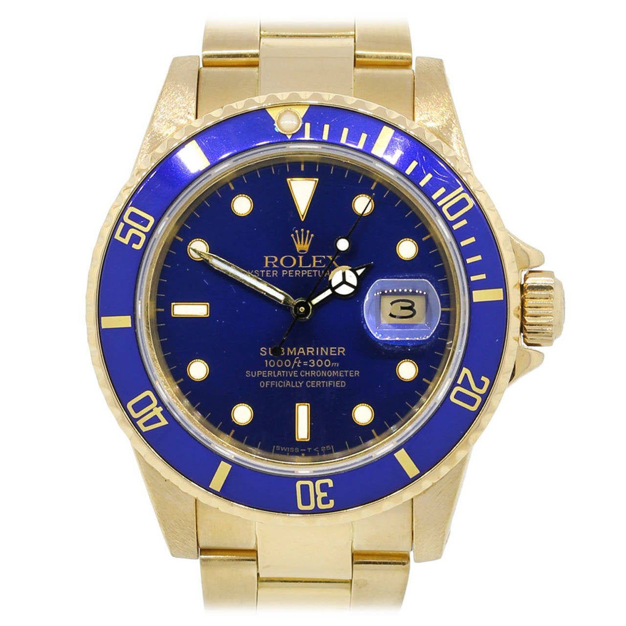 how to wear a rolex submariner