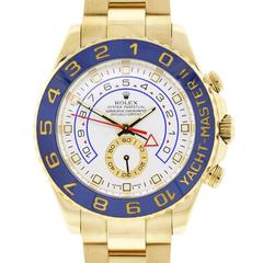Rolex Yellow Gold Yacht Master II Automatic Wristwatch Ref 116688