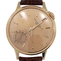 Patek Philippe Rose Gold Casa Becker Wristwatch