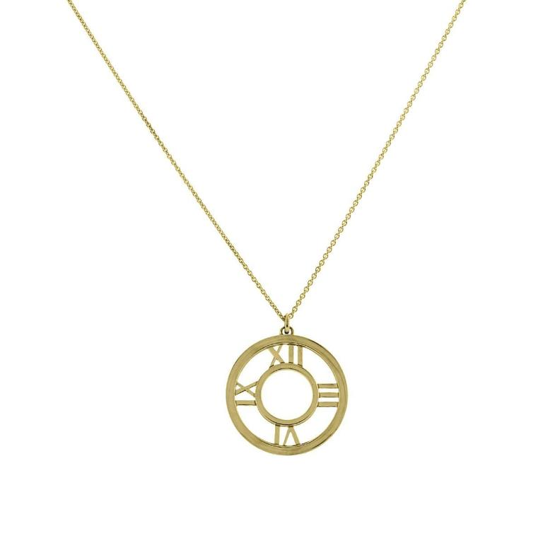 and co gold atlas pendant necklace at 1stdibs