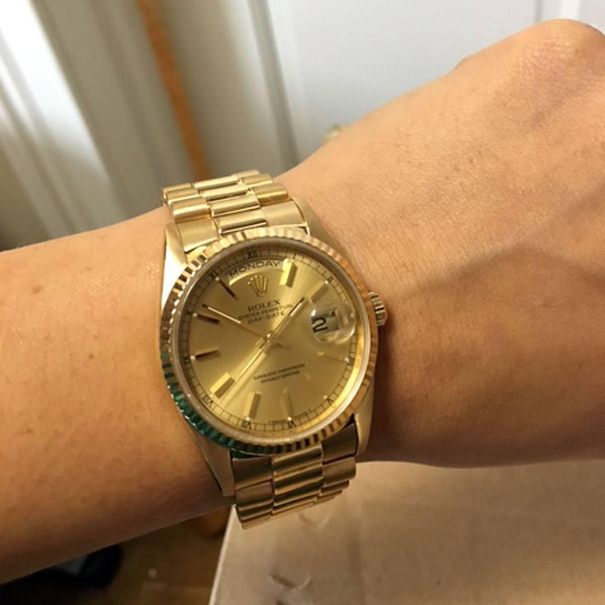 Rolex Day Date President Gold Replica