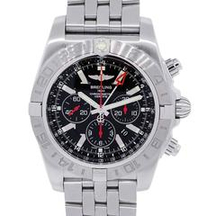 Breitling Stainless Steel Chronomat GMT Limited Edition Automatic Wristwatch