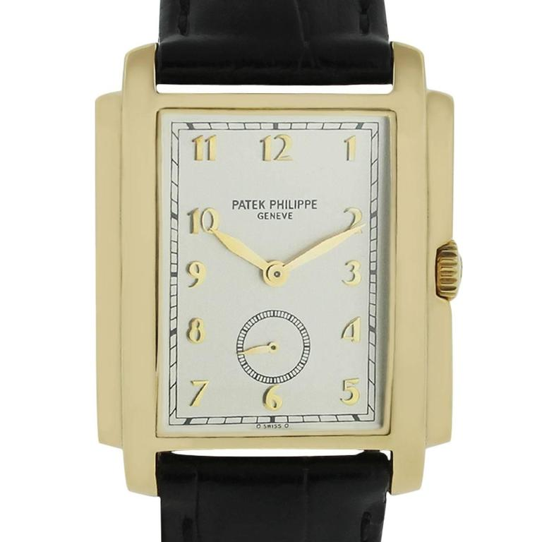 Patek Philippe 5124J 18k Yellow Gold Gondolo Watch