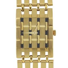 Piaget Ladies Yellow Gold Polo Quartz Wristwatch Ref 8131