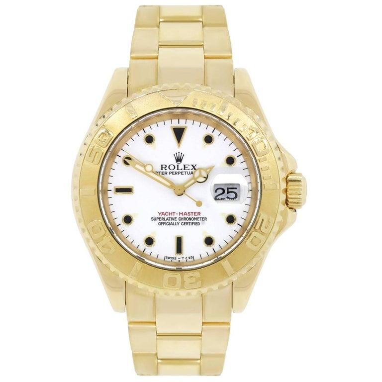 Rolex Yachtmaster Automatic Wristwatch Ref 16628 2