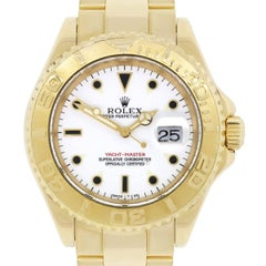 Rolex Yellow Gold Yachtmaster Automatic Wristwatch Ref 16628
