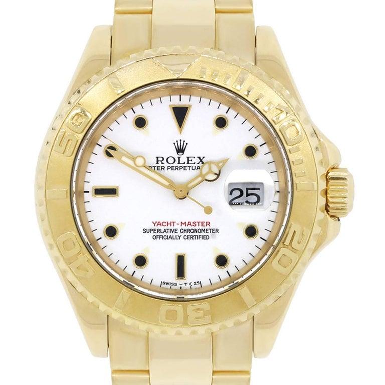 Rolex Yachtmaster Automatic Wristwatch Ref 16628 1