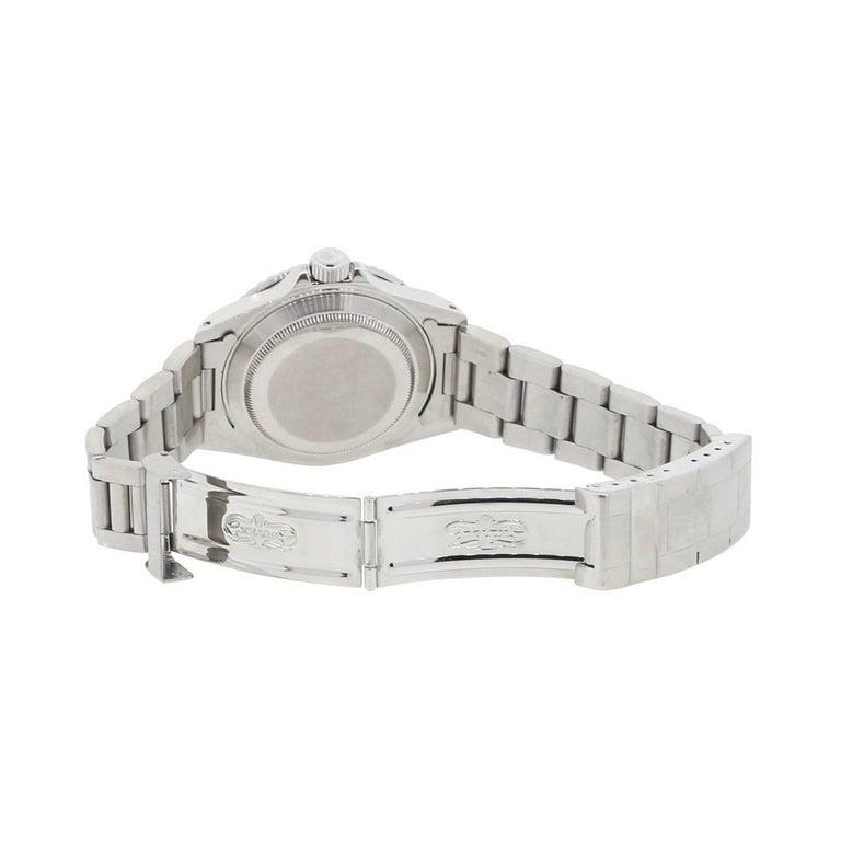 Rolex Stainless Steel Submariner Automatic Wristwatch Ref 16610 4