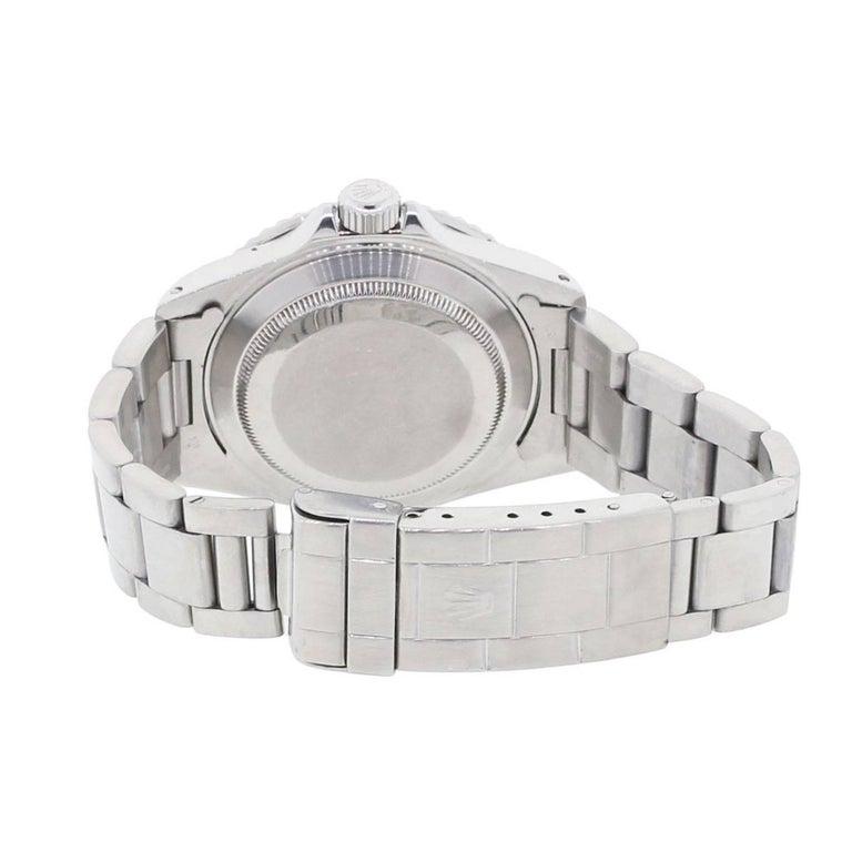 Rolex Stainless Steel Submariner Automatic Wristwatch Ref 16610 3