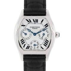 Cartier white gold Tortue Perpetual Calendar Automatic Wristwatch Ref 2540