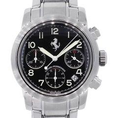 Girard Perregaux Stainless Steel Ferrari Chronograph Automatic Wristwatch