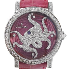 Corum Diamond Dial Octopus Limited Edition Automatic Wristwatch