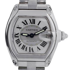 Cartier Stainless Steel Roadster Automatic Wristwatch ref 2510