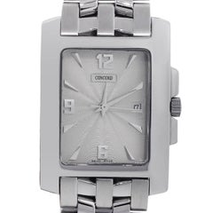 Concord Stainless Steel Sportivo Quartz link bracelet Wristwatch
