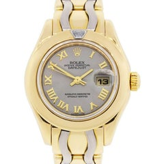 Rolex Ladies yellow gold Pearlmaster Automatic Wristwatch Ref 80328
