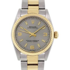 Rolex Stainless steel Oyster Perpetual Midsize Automatic Wristwatch Ref 77513