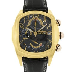 Invicta yellow gold Lupah Chronograph automatic Wristwatch Ref 5220903-021