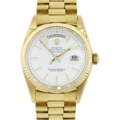 Rolex yellow gold Day Date 1803 Presidential Automatic Wristwatch