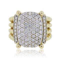 David Yurman Diamond Wheaton Ring