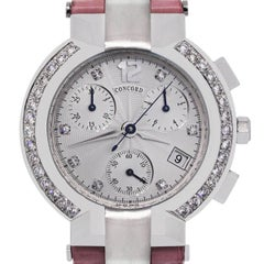 Concord La Scala Chronograph Diamond Ladies Watch
