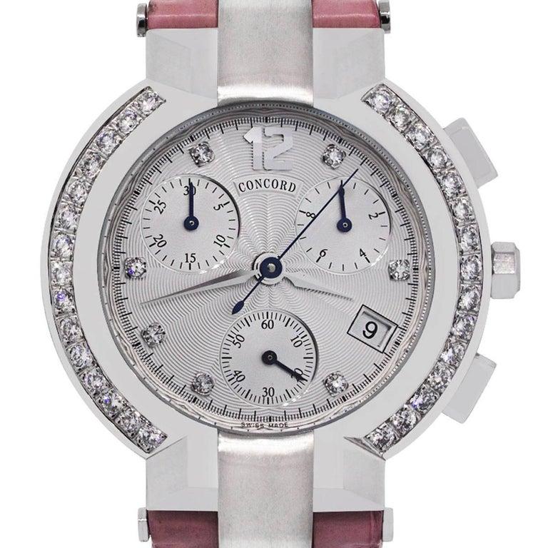Concord La Scala Chronograph Diamond Ladies Watch