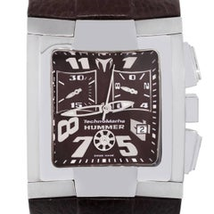 TechnoMarine Stainless Steel Hummer Quartz Wristwatch