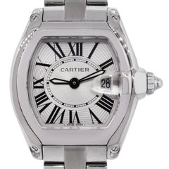 Cartier Ladies Stainless Steel Roadster Quartz Wristwatch Ref 2675