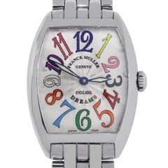 Franck Muller Ladies Stainless Steel Color Dreams Quartz Wristwatch