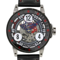 B.R.M Stainless Steel V6-046 Defrancesco Racing Sport Automatic Wristwatch