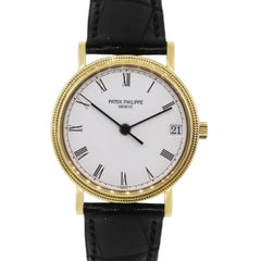 Patek Philippe yellow gold Calatrava Automatic Wristwatch