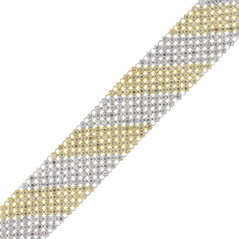 Diamond Mesh Carpet Bracelet For Sale