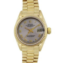 Rolex Ladies Yellow Gold Datejust Presidential Automatic wristwatch