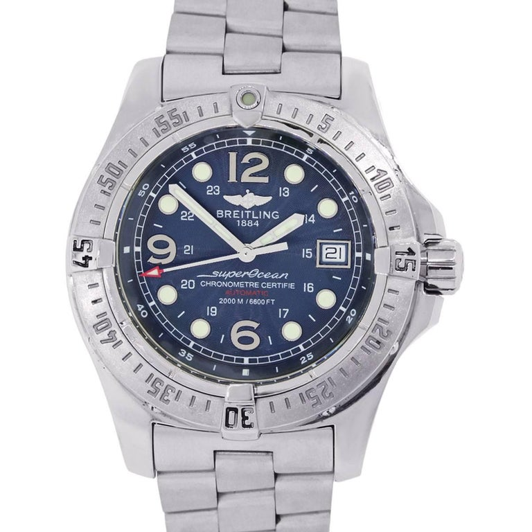 Breitling Stainless steel SuperOcean Steelfish Automatic Wristwatch Ref A17390