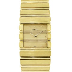 Piaget yellow gold Polo Quartz Wristwatch Ref 7131