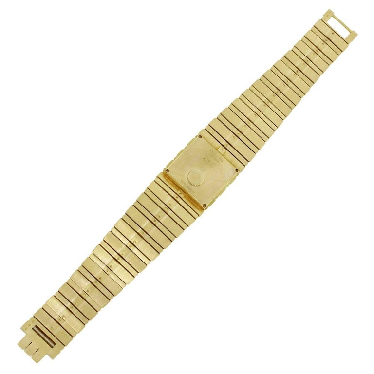 Women's or Men's Piaget yellow gold Polo Quartz Wristwatch Ref 7131  For Sale