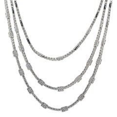 45.29 Carat Diamond Necklace