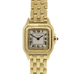 Cartier Panthere Wristwatch