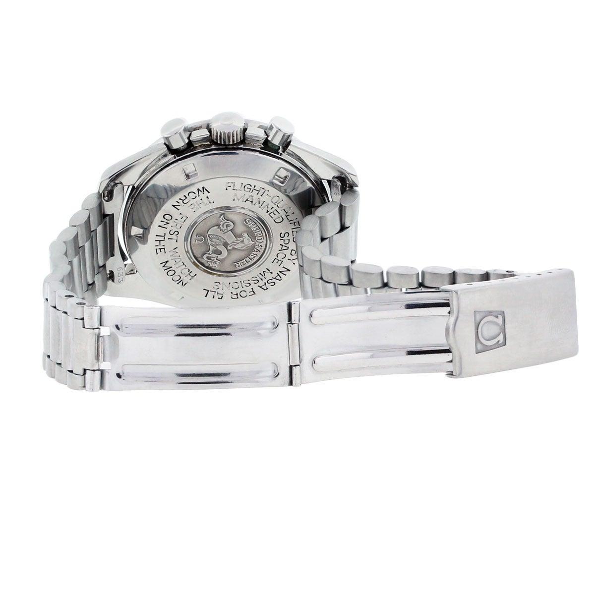 Omega Stainless Steel Speedmaster First Watch Worn on the ...
